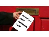 Leaflet Distribution - Fast Door to Door Delivery - Any Area Of London - 24/7- Business Service
