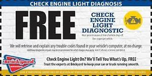 FREE CHECK ENGINE SCAN /SAFETYS ONLY 59.95