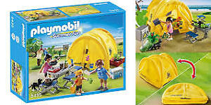 playmobil camping set