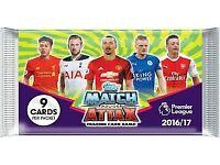 Topps Match Attax 2016/17 trading Cards to swap