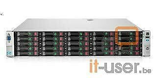 HP Proliant DL380p G8 SFF 25xBays/2x I-Xeon E5-2640 2.5GHz/16GB RAM/P420i/1x750W