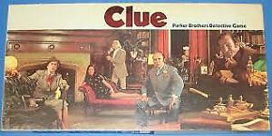 WANTED: OLD SCHOOL CLUE BOARD GAME