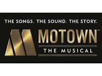 MOTOWN THEATRE TICKETS LONDON, (THURSDAY 15TH DECEMBER 2016 @ 730PM) FACE VALUE £81 SELLING FOR £55