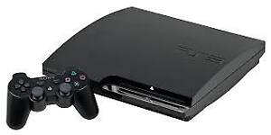 PLAYSTATION 3 WITH GAMES + CONTROLLERS