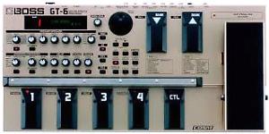 BOSS Guitar GT-6  Effects sound Processor