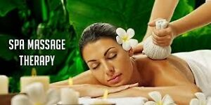 Relax Massage at Blue Moon Spa 647 646 5515 book for 4 hands