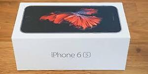 **BRAND NEW SEALED NOUVEAU 32GB IPHONE 6S BLACK**