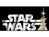 Wanted Vintage Star wars Figures And Toys Starwar Play sets weapons capes Starwars