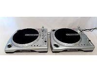 PAIR OF 2 X NUMARK TT 1600 Turntables Set Of 2 Vinyl Record Player Decks DJ Equipment V.G.C.