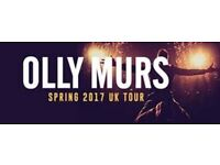 1 x Ticket Olly Murs - 31 March 2017 at 18:30 O2