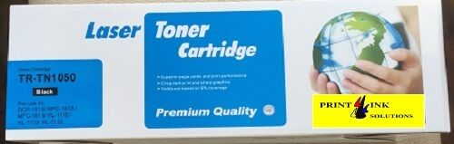 Compatible Brother TN1050 Black Laser Toner Cartridge