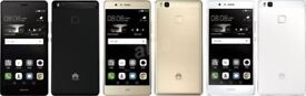 "Huawei P9 Lite 4G Android 6.0 3GB RAM 16GB ROM 5.2"" 1.7GHz Bluetooth graded"