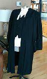 Court Gown, Blazer and Shirt, worn very little