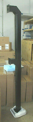 Access Control Security Badge Reader Dual Stanchion Arm Heights 42 72