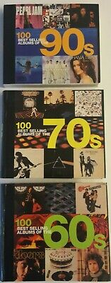 100 Best Selling Albums of the 60's Sculatti, 70's Champ, 90's Auty,Dodd 3