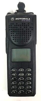 Motorola Xts3000 H09uch9pw7an Astro Iii Flashport 800mhz Radio Parts Only 2