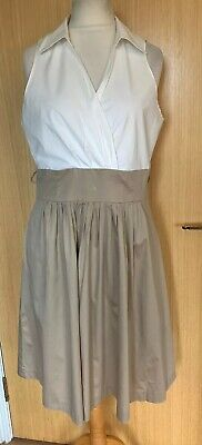 Jones New York Ladies Dress 16 18 Smart Summer Pockets Work Occasion Stylish