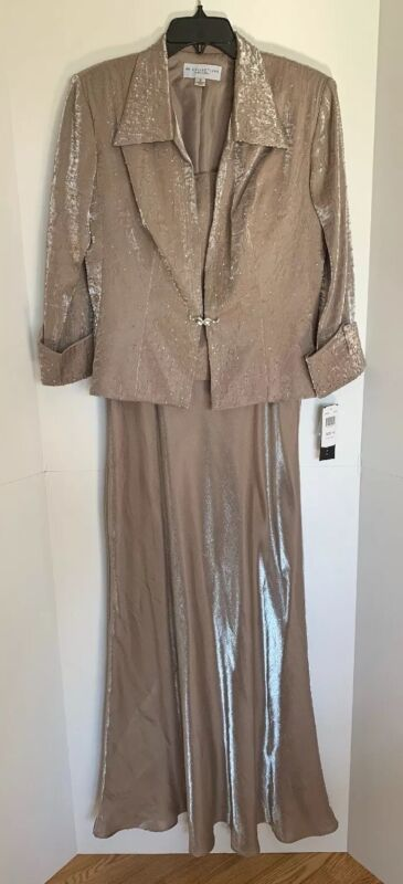 KM Collection by Milla Bell 2 Piece Wedding Special Event Formal Dress Size 10