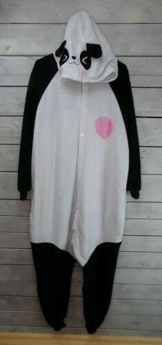 Spooktacular Creations Adult One-Piece Panda Costume-Size Medium-Good Condition