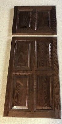 RV MOTORHOME CAMPER BUS REFRIGERATOR FREEZER DOOR PANEL COVER WALNUT COLOR PANEL