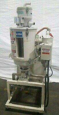 Matsui Dmz 40 Plastic Resin Dryer With Vacuum Transfer Conveyor