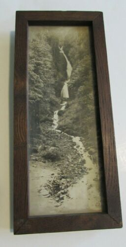Vtg Ralph Eddy Falls Photo Photograph Oregon City OR