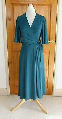 JENNY PACKHAM  PARTY/SPECIAL OCCASION ULTIMATE WRAP DRESS SIZE UK12 NEW