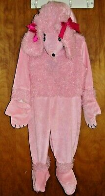 Underwraps Pink Poodle Plush, Superior Quality Costume, Toddler Child size L EUC - Poodle Costume Toddler