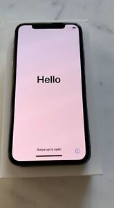 Mint space grey iPhone X, 256Gb, and factory unlocked