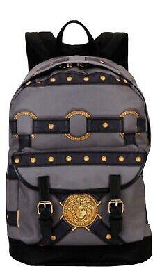 Versace Bondage Backpack Nylon/Leather