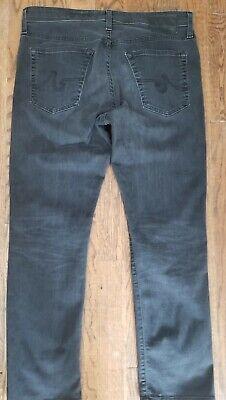 Adriano Goldschmied AG Slim Straight The Everett Jeans 34x30 Black