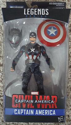 Marvel 6-Inch Legends CAPTAIN AMERICA BAF Build A Figure ***NEW and SEALED***