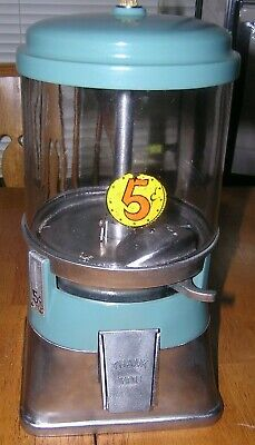 Antique 5 Cent Regal Gumball Machine, !930s, Country, General Store