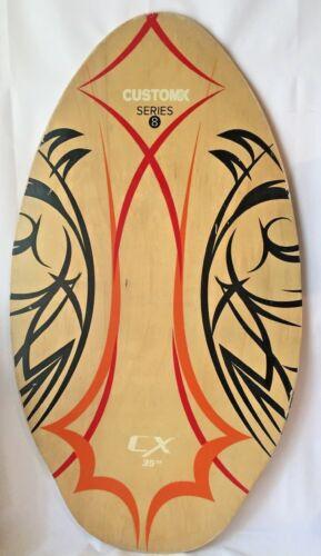 "Skimboard  Wood Boogie Body Board CX Brand Wooden 35 "" Series 8 Hawaii"