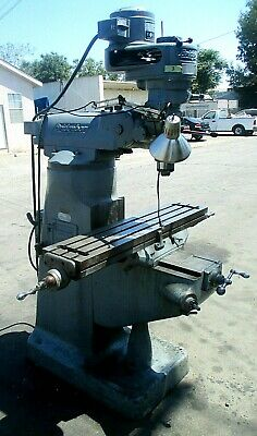 Bridgeport Mill Mv-315sn 12br 51397great Dealfirst Come - First Served