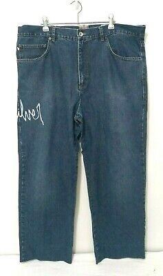 Quicksilver Mens Jeans Size 38W X 28L Dark Wash Blue Denim Surf Brand