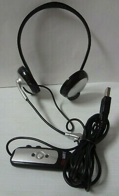 Gigaware Wrap-Around USB Stereo Headset w/Mic & Noise Cancelling 43-203  -
