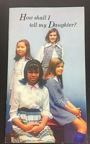Puberty and Menstruation Booklet How Shall I Tell my Daughter? Modess 1969