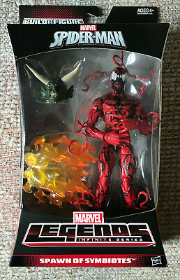 MARVEL LEGENDS HASBRO SPIDER-MAN SPAWN OF SYMBIOTES CARNAGE GREEN GOBLIN BAF NEW