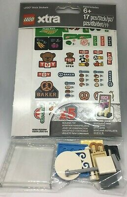 Lego Xtra 853921 - Brick Stickers / Signs etc - Polybag - New & Sealed