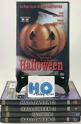 Non Slasher Halloween Movies (Halloween - 1 à 5 - John CARPENTER - Michael MYERS - SLASHER - Comme)