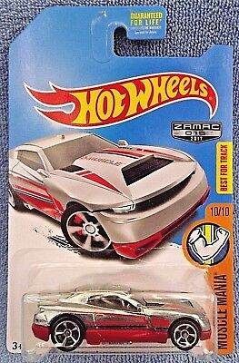 2017 Hot Wheels Walmart Exclusive #15 Zamac Muscle Mania 10/10 D-MUSCLE w/OH5 Sp