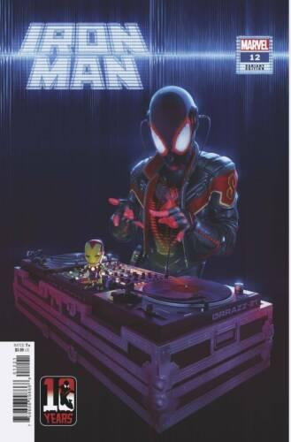 Iron Man #12 Rahzzah Cover B Variant Miles Morales 10th Anniversary NM