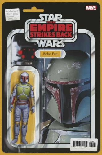 WAR OF THE BOUNTY HUNTERS #1 CHRSITOPHER ACTION FIGURE VARIANT | BOBA FETT