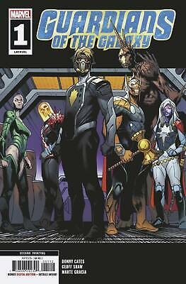 GUARDIANS OF THE GALAXY #1 2nd PRINT SHAW VARIANT - MARVEL RELEASE DATE (Release Date Of Guardians Of The Galaxy)