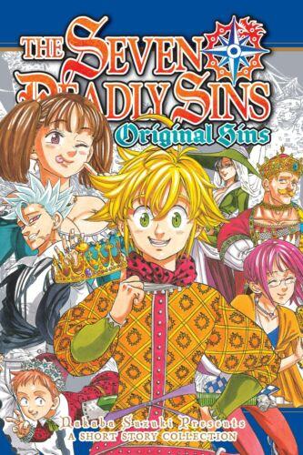 The Seven Deadly Sins: Original Sins   English Manga Graphic Novels NEW