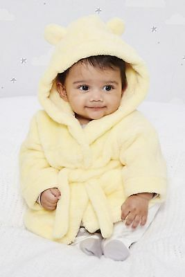 Studio Baby Robe Lemon Age 6-12 Months rrp £25 DH082 AA 14