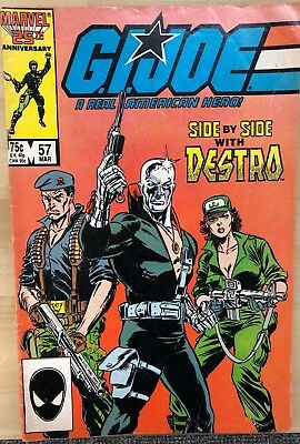 G.I. JOE #57 (1987) Marvel Comics VG+