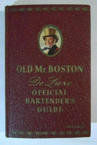 Old Mr. Boston Deluxe Official Bartender