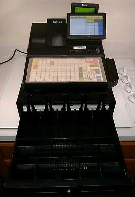 Sam4s Sps-520ft 7 Touch Screen Hybrid Pos Cash Register